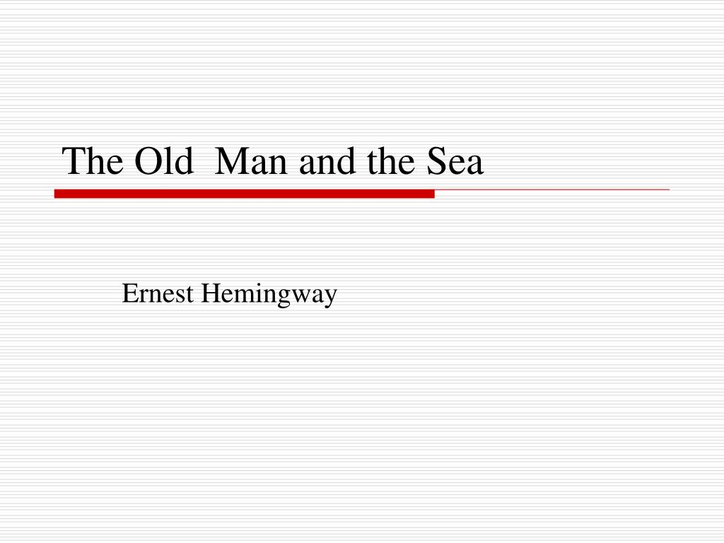the old man and the sea l.