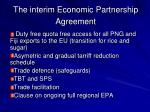 the interim economic partnership agreement7