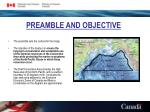 preamble and objective