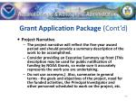 grant application package cont d40