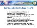 grant application package cont d41