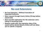 no cost extensions