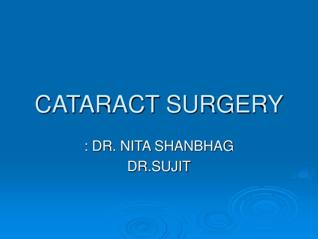 cataract surgery l.