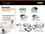 bio rad s electrophoresis equipment