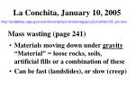 la conchita january 10 2005