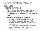 communication between modules9