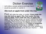 diction exercise