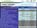 costs example