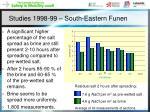studies 1998 99 south eastern funen