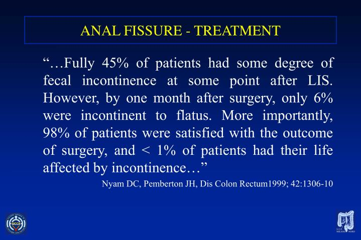 Ppt - Treatment Of Anal Fissures Powerpoint Presentation -9671