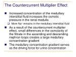 the countercurrent multiplier effect77