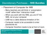 discretionary purchases iwb bundles31