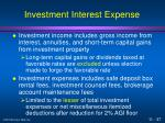 investment interest expense37