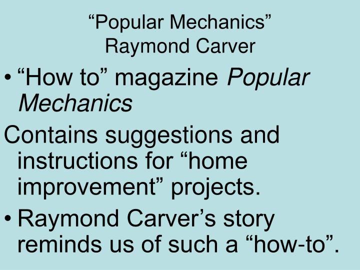 popular mechanics story