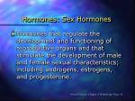 hormones sex hormones