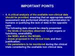 important points6
