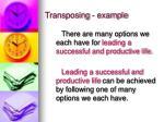 transposing example17