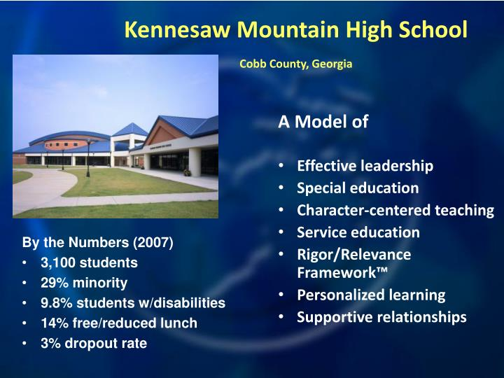 Kennesaw mountain high school cobb county georgia