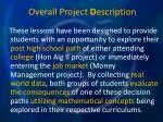 overall project d escription