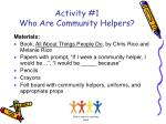 activity 1 who are community helpers