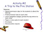 activity 2 a trip to the fire station