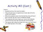 activity 2 cont
