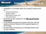 integrating imagine cup in curriculum