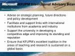 kfupm international advisory board