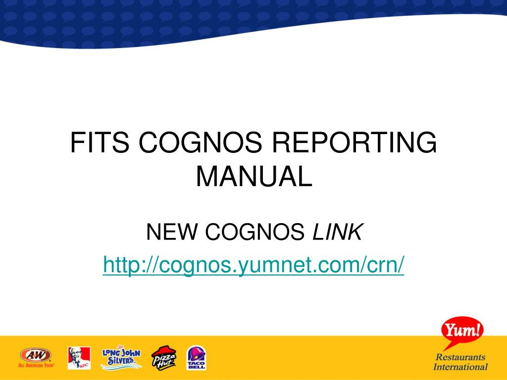 fits cognos reporting manual l.