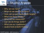 2 situation analysis