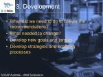 3 development