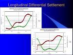 longitudinal differential settlement25