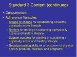standard 3 content continued