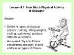 lesson 4 1 how much physical activity is enough10