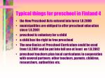 typical things for preschool in finland 4