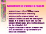 typical things for preschool in finland 5