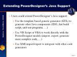 extending powerdesigner s java support