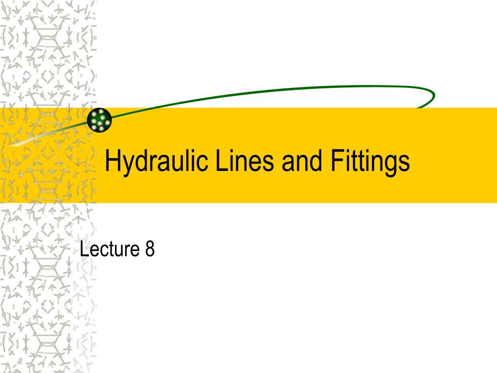 hydraulic lines and fittings l.