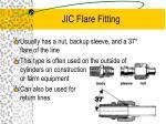 jic flare fitting