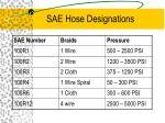 sae hose designations