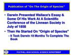 publication of on the origin of species5