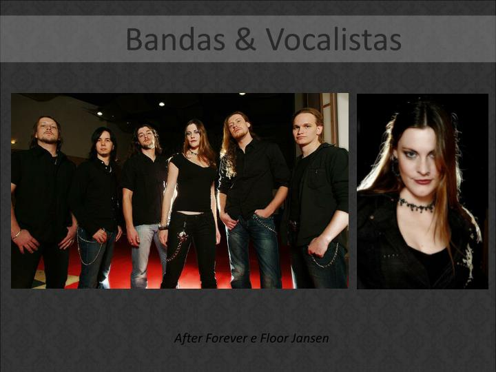 Bandas & Vocalistas