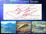 continental glaciated terrain