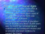 the theory of glacial ages
