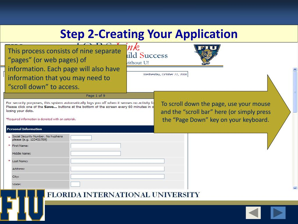 Step 2-Creating Your Application