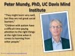 peter mundy phd uc davis mind institute14