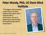 peter mundy phd uc davis mind institute15