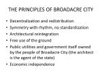 the principles of broadacre city