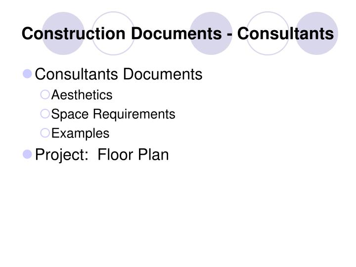 construction documents consultants n.