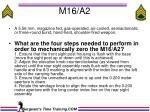 m16 a2